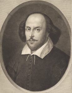 19th-Century illustration of William Shakespeare.