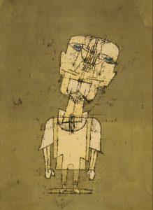 Ghost of a Genius by Paul Klee, 1922.